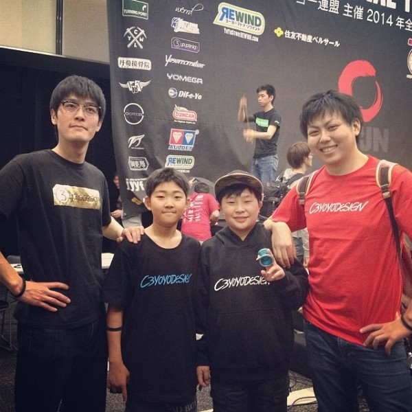 C3YoYoDesign at 2014 Japan Nationals