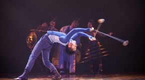Press for Black in Cirque du Soleil's Kurios