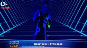 Konstantin Tudjarov on Bulgaria's Got Talent
